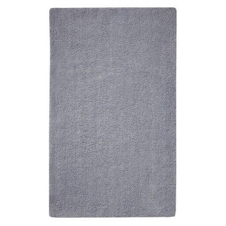 Tapis de bain antidérapant gris Natural Remedy Esprit Home