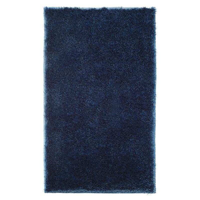 Tapis de salle de bain antid rapant bleu chill esprit home - Tapis salle de bain antiderapant ...