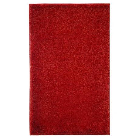 Tapis de salle-de-bain antidérapant rouge Chill! Esprit Home