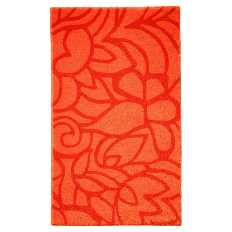tapis de salle de bain antid rapant orange flower shower esprit home. Black Bedroom Furniture Sets. Home Design Ideas