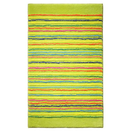 Tapis de bain antidérapant vert Cool Stripes Esprit Home