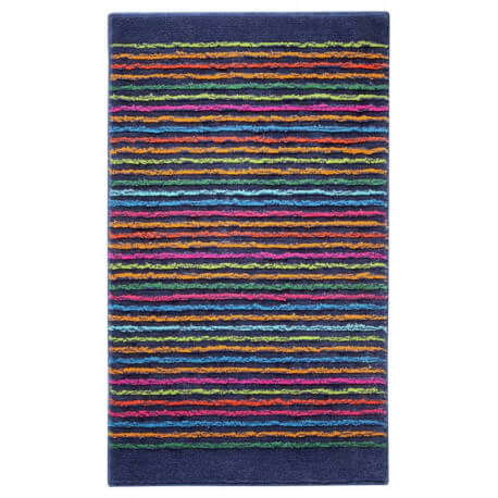 Tapis de bain antidérapant bleu Cool Stripes Esprit Home