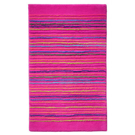 Tapis de bain antidérapant rose Cool Stripes Esprit Home