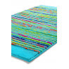 Tapis de bain antidérapant turquoise Cool Stripes Esprit Home