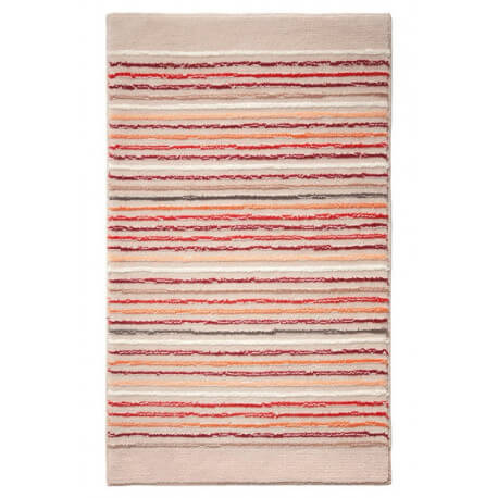 Tapis de bain antidérapant beige Cool Stripes Esprit Home