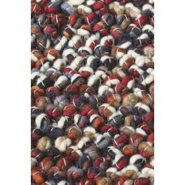 Tapis laine et jute tissé main plat moderne pour salon Marble