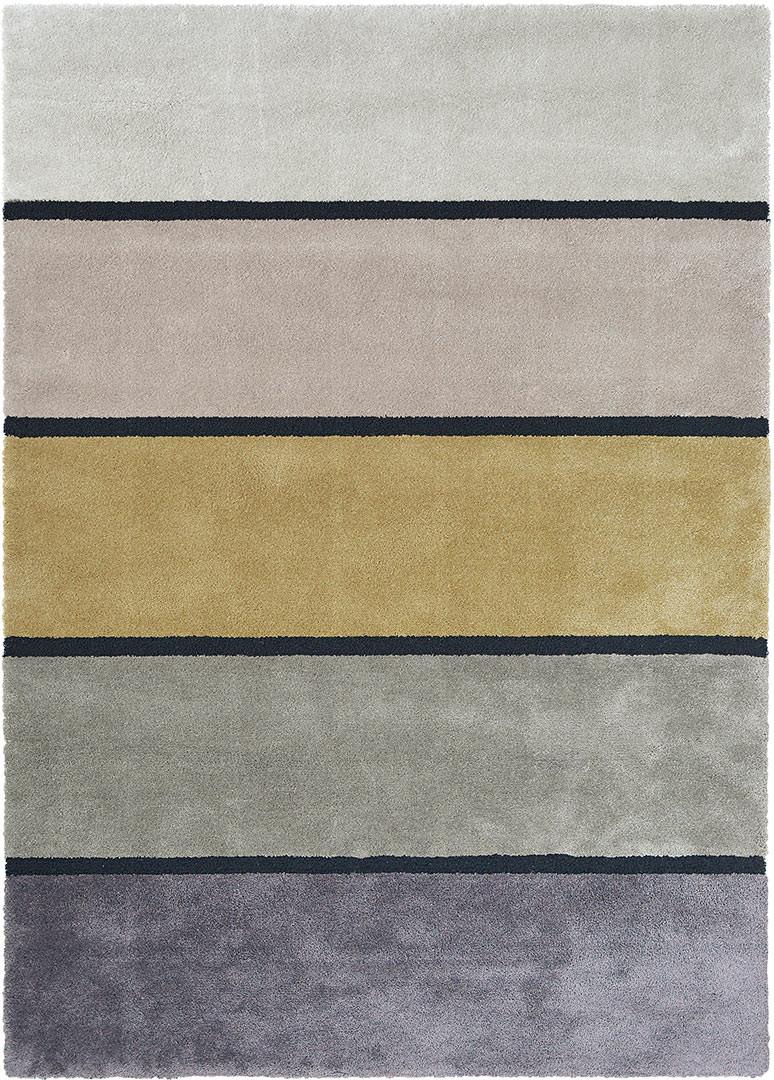 Tapis moderne laine et tencel pour salon Twinset Divina
