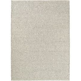 Tapis plat tissé main laine design pour salon Tumble