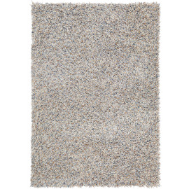 Tapis laine shaggy pour salon rectangle Young