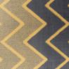 Tapis géométrique à courtes mèches design Conway