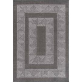Tapis baroque à courtes mèches rectangle Gaya