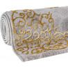Tapis effet 3D en polyester baroque brillant Notshi