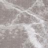 Tapis effet marbre brillant en polyester moderne Cleron