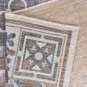 Tapis carreaux de ciment intérieur et extérieur plat Tufino