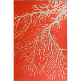 Tapis extérieur et intérieur design corail Océane