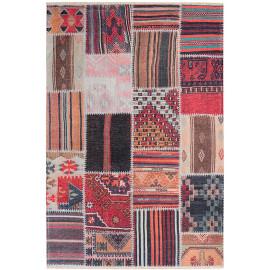Tapis patchwork ethnique extérieur et intérieur Malti