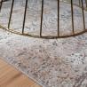 Tapis romantique baroque en soie de bambou Art