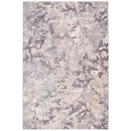 Tapis de salon moderne gris Ambiente