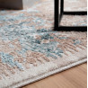Tapis effet brillant style baroque Miracle