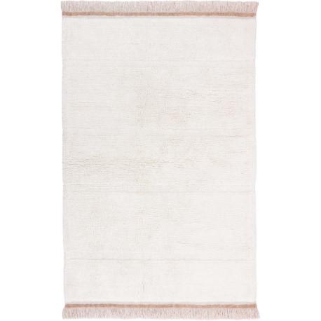 Tapis naturel en laine lavable en machine Steppe