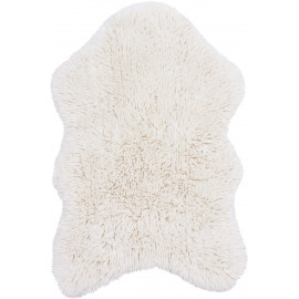 Tapis en laine naturelle lavable en machine Woolly