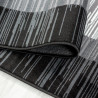 Tapis contemporain rayé intérieur rectangle Brabanter