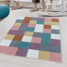 Tapis coloré pour enfant rectangle Carus