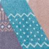 Tapis multicolore pour enfant rectangle Tipi