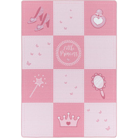 Tapis antidérapant rose pour fille Princess