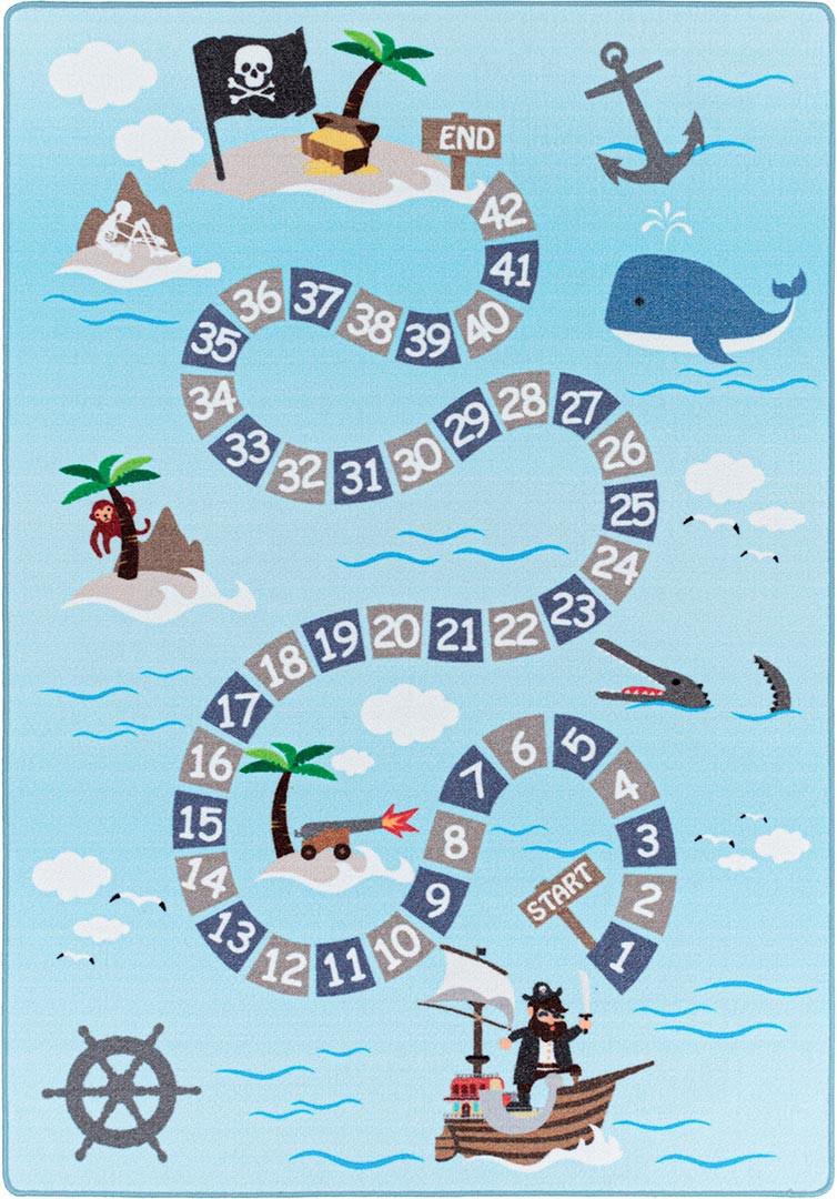 Tapis de jeu pour fille et garçon Whale