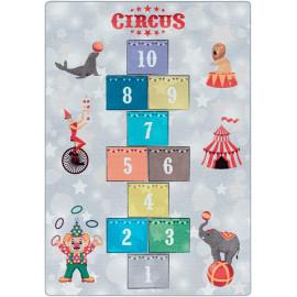Tapis marelle pour fille et garçon Circus