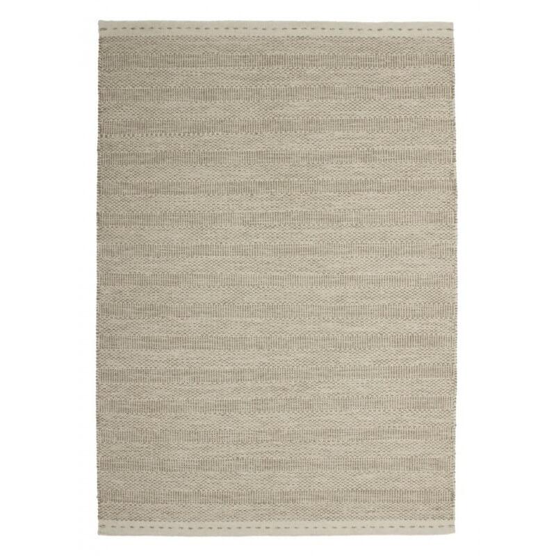 tapis beige en laine nou main jakarta. Black Bedroom Furniture Sets. Home Design Ideas