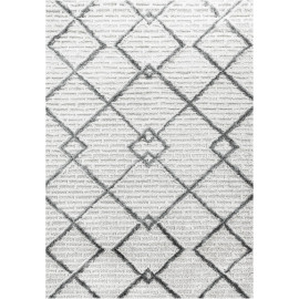 Tapis scandinave rectangulaire à courts mèches Toda