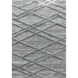 Tapis design à courtes mèches rectangulaire Lakka