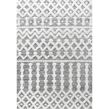 Tapis design à courtes mèches rectangulaire Ria