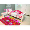 Tapis pour chambre rouge tendance Datcha Arte Espina