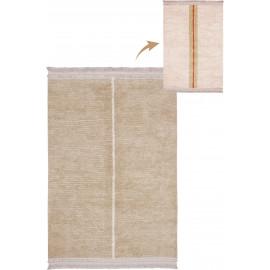 Tapis naturel réversible lavable en machine Duetto