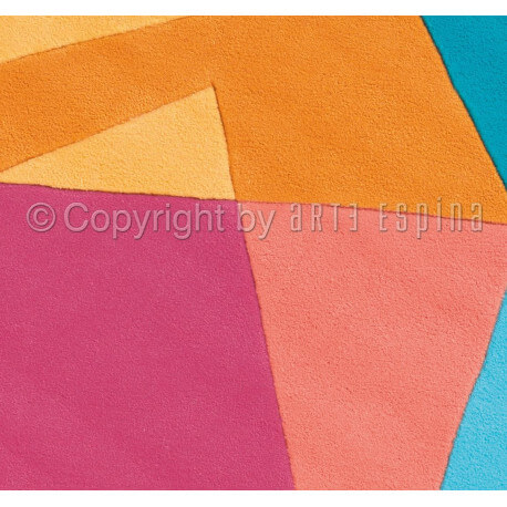 Tapis multicolore de salon Intersection Arte Espina