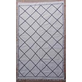 Tapis marocain berbère tissé main en laine 245x145 Pia