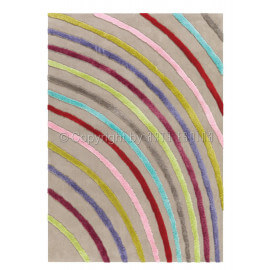 Tapis multicolore Arte Espina moderne Blues