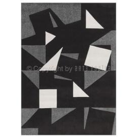 Tapis gris et blanc pour bureau Tweed Arte Espina