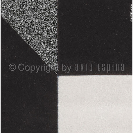 tapis gris et blanc tweed arte espina. Black Bedroom Furniture Sets. Home Design Ideas