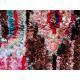 Tapis berbère boucharouite 220x130 multicolore noué main Rosie