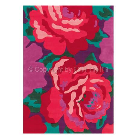 Tapis tufté main multicolore pour chambre Bloom Arte Espina