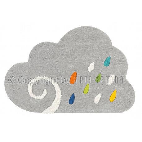 Tapis pour chambre enfant gris Cloud Kids Arte Espina