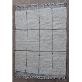 Tapis beni ouarain 100 % laine épaisse 280x200 Fès