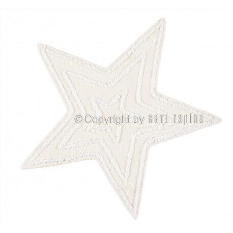 Tapis blanc pour chambre de bébé Star Kids Arte Espina
