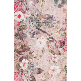 Tapis floral pour salon Lifetime Wecon Home