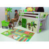 Tapis de chambre enfant vert Kids Arte Espina