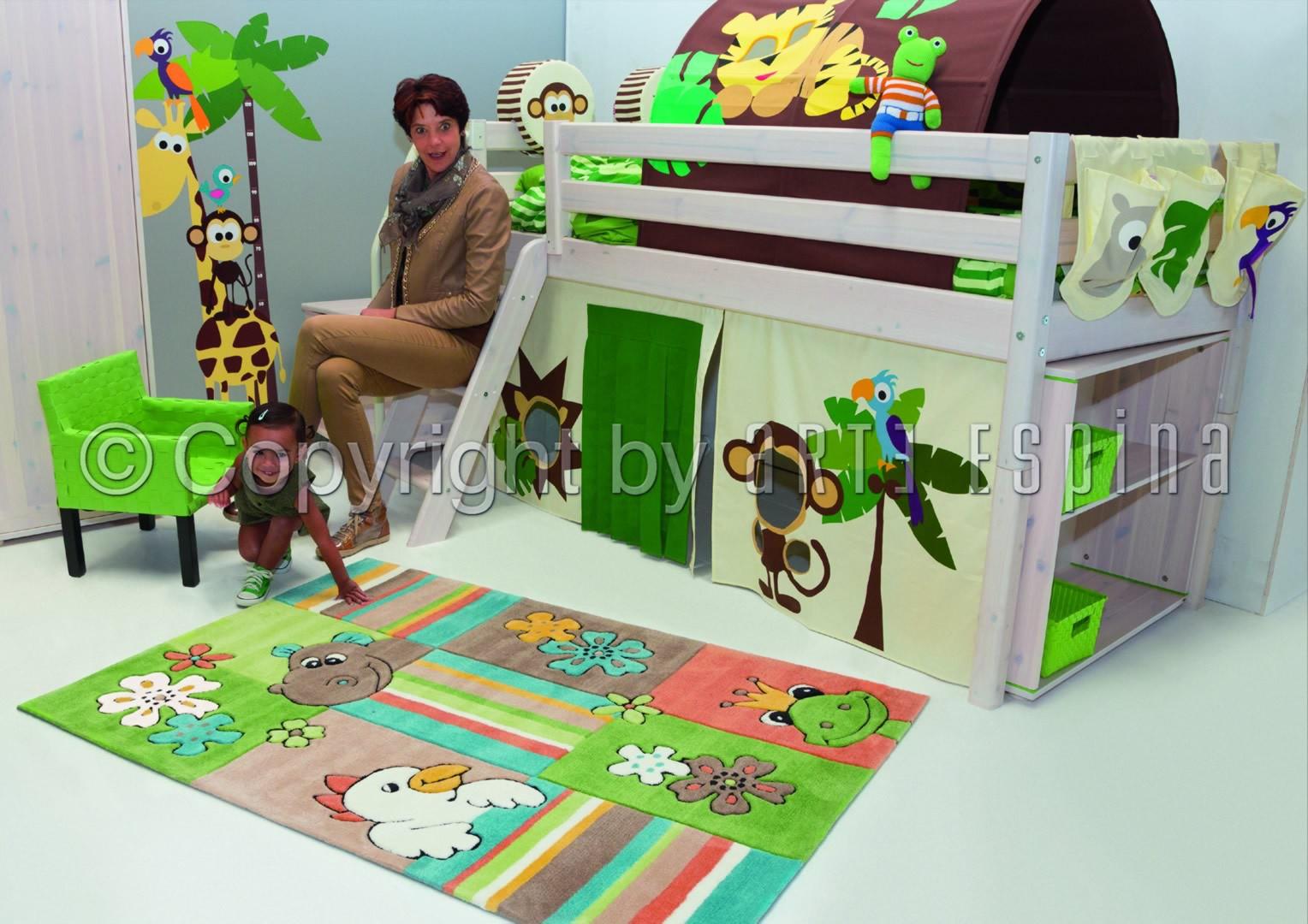 de chambre enfant vert Kids Arte Espina